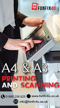 Print and Scan Service Near Me in Oxford